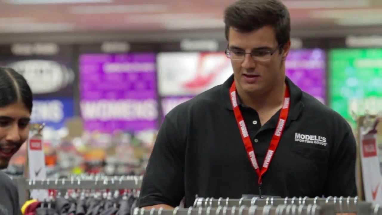Ryan Kerrigan Modell s Sporting Goods Undercover Associate