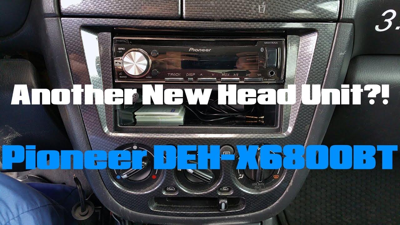 hight resolution of pioneer deh x6800bt