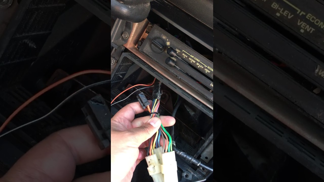 1991 Camaro Wiring Harness Diagram Online 91 Rs Fuse Box Radio Youtube 68