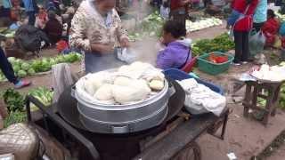 ซาลาเปา หลวงน้ำทาง Luang Namtha food
