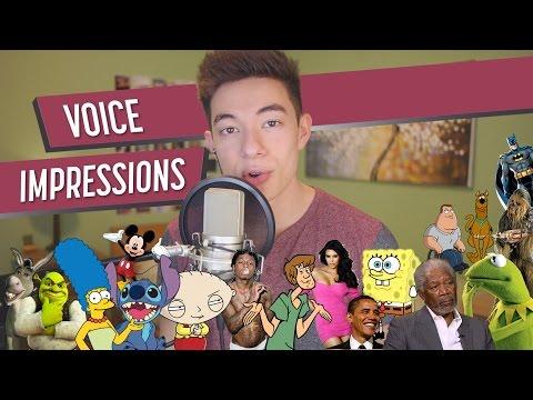 Crazy Voice Impressions
