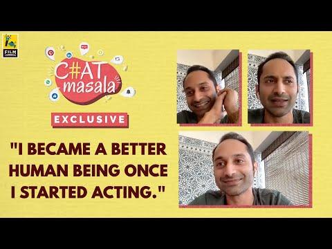 Fahadh Faasil Interview   Anupama Chopra, Baradwaj Rangan   Chat Masala   Film Companion Exclusive
