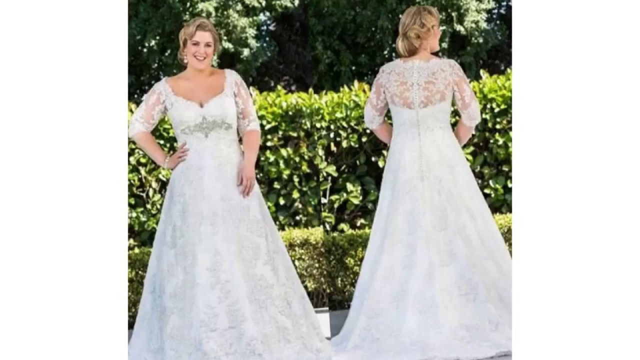 Celtic Wedding Dresses Plus Size - YouTube