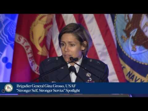 "Brigadier General Gina Grosso, USAF - ""Stronger Self, Stronger Service"" Spotlight"