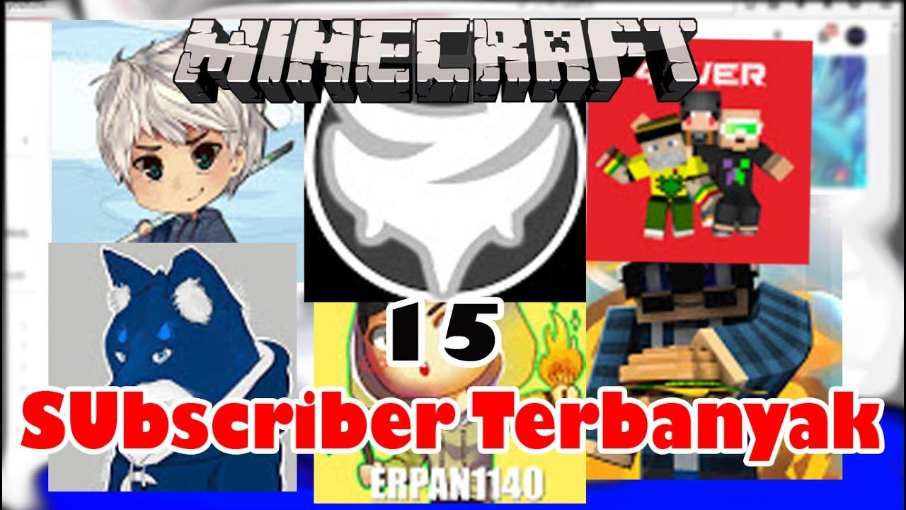 Youtuber Minecraft Indonesia Dengan Subscriber Terbanyak - Skin para youtuber minecraft indo