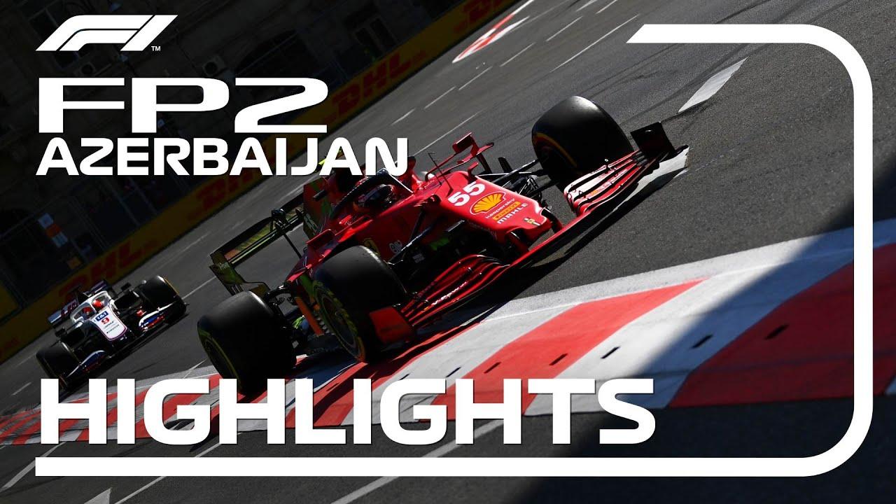 Download FP2 Highlights | 2021 Azerbaijan Grand Prix