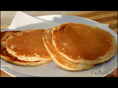 How to make light fluffy pancakes from scratch