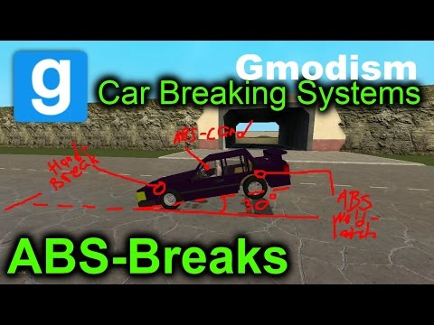 Garry's Mod: ABS-Brakes on ACF Car! +guide to braking systems