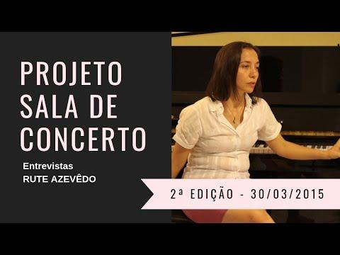 Sra. ISAURA RUTE GINO DE AZEVÊDO - Projeto Sala de Concerto 2ª Edição - Juazeiro do Norte / Ceará