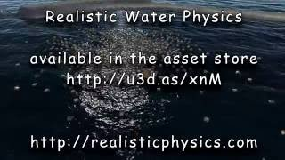 Realistic Water Physics Trailer - with Ceto: Ocean system