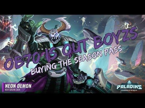 Paladins - Purchasing the Season Pass OB70 LIVE