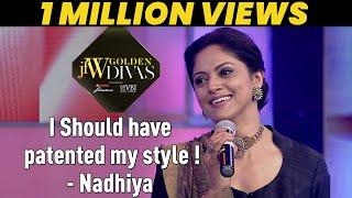 JFW Golden Divas 2018 - Nadhiya