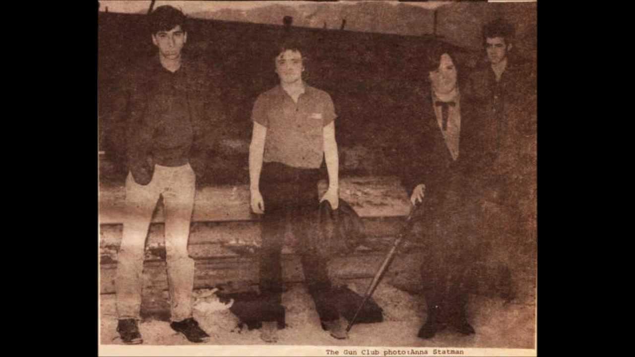 The Gun Club - Railroad Bill (live July 1980) with KID CONGO