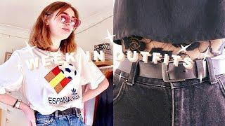 A Week In Outfits (Uni Student) #2 | Katie Joslin