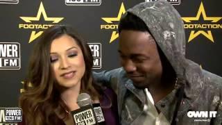 Kendrick Lamar Discusses his Grammy Nominations