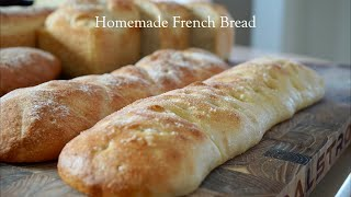 Easy Homemade French Bread🇺🇸🇫🇷–Bruno Albouze