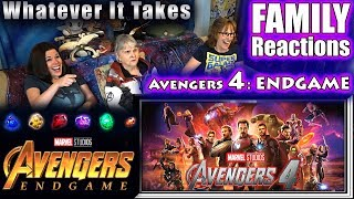 Avengers 4 : ENDGAME | FAMILY Reactions
