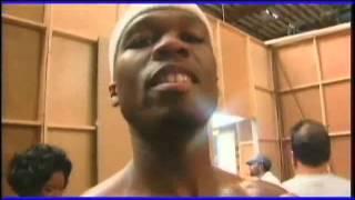 Eminem and 50 Cent Backstage 2003