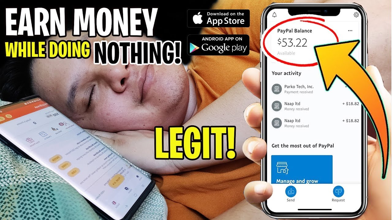 EARN MONEY WHILE DOING NOTHING! LEGIT!