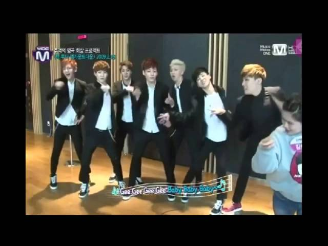 Bangtan Boys(BTS) dance Gee Girls' Generation(SNSD)