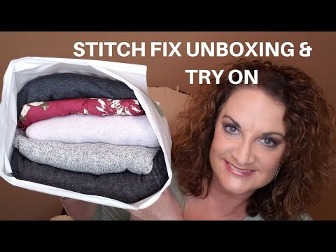 Stitch Fix Unboxing, Review,  and Try On   Plus Size