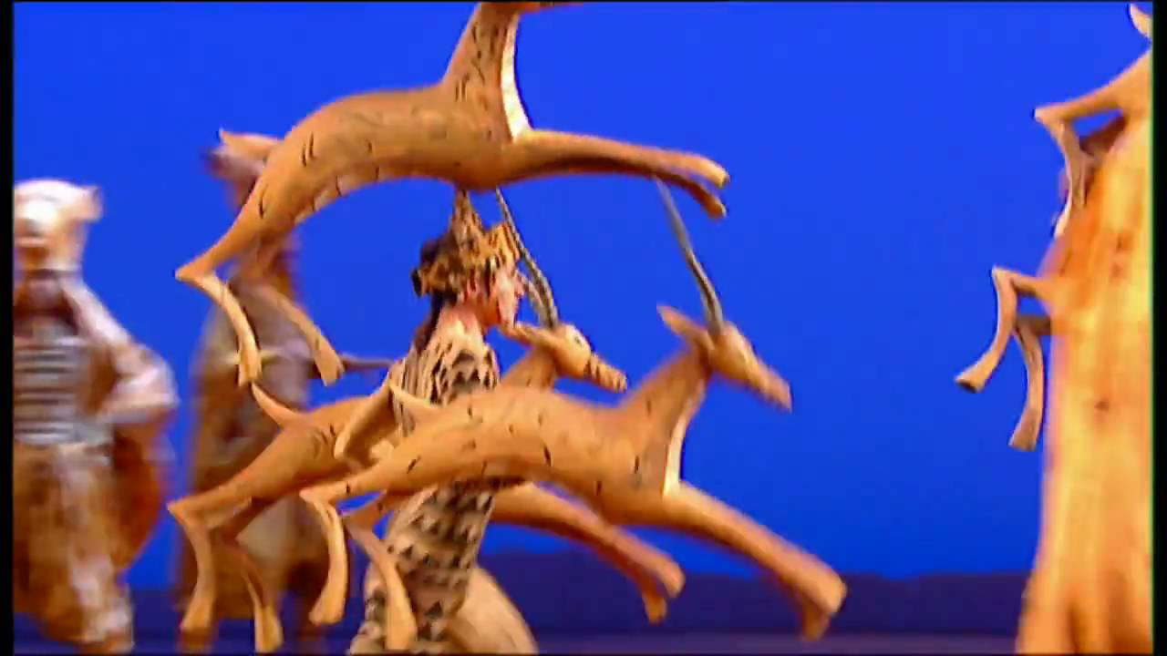The Lioness Hunt From The Lion King The Landmark Musical Event Youtube