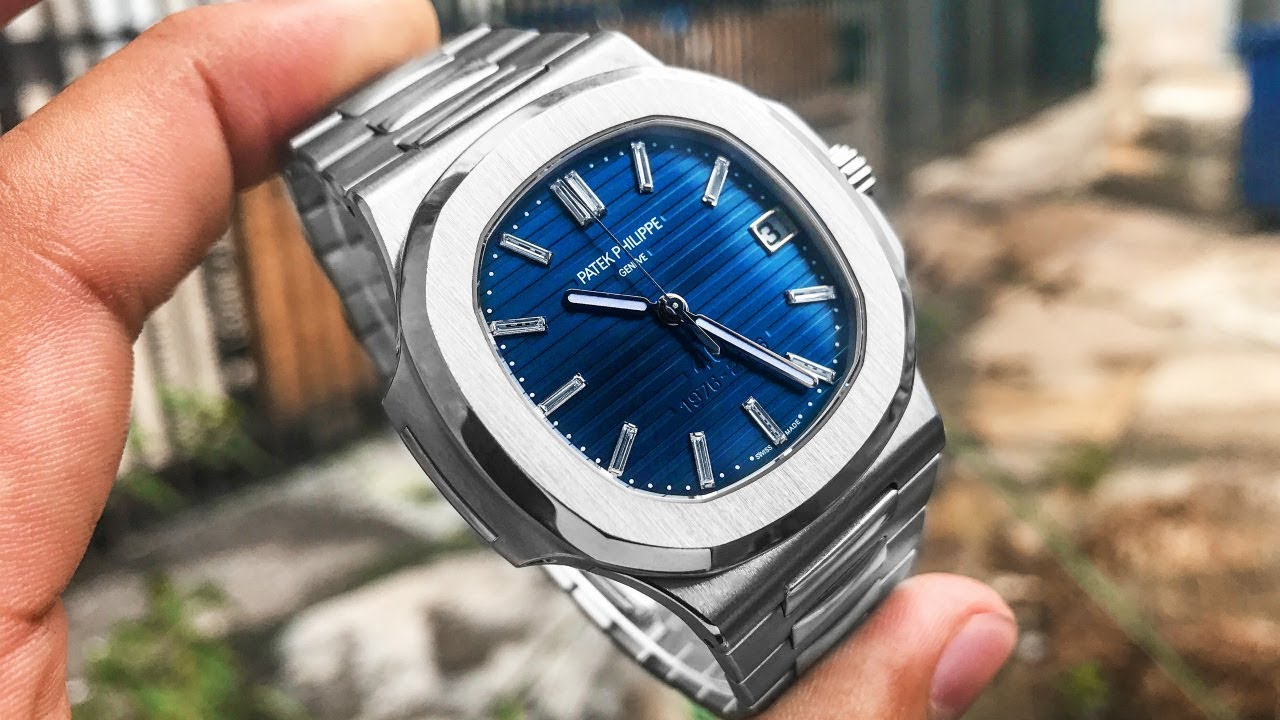 Patek Philippe Nautilus 5711 1p Worth 250 000 40th Anniversary