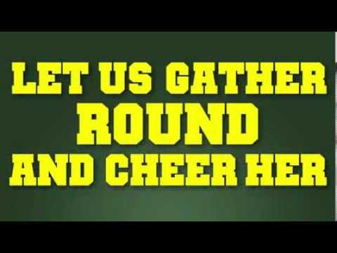 """Mighty Oregon"" - University of Oregon Fight Song with Lyrics"