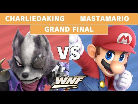 WNF 2.2 CharlieDaKing (Wolf) Vs MastaMario (Mario) - Grand Finals - Smash Ultimate
