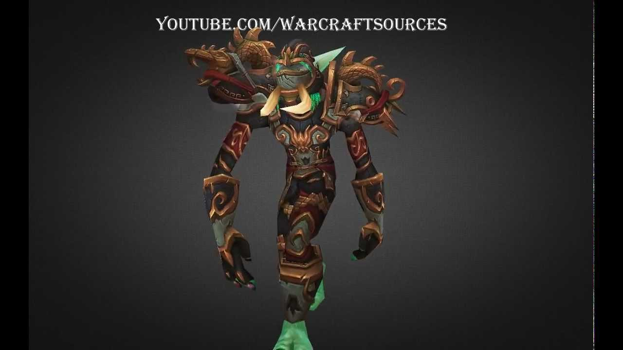Troll Rogue Challenge Mode Set Silent In Armor