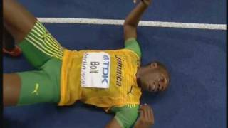 Usain Bolt 200m World Record 19.19 Berlin 2009 Final