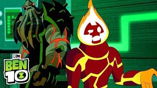 Ben 10 | Heatblast and Vilgax Team Up | Cartoon Network