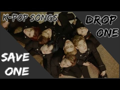 SAVE ONE DROP ONE: K-POP SONGS GAME