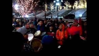 Idle No More 3, Salt Lake City, Utah, Song for Canada