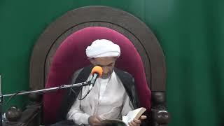 الشيخ علي مال الله - حكم محاذاة الرجل للمرأة أثناء الصلاة