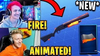 Streamers React to *NEW* ANIMATED Heat Wrap! *RARE* | Fortnite Highlights & Funny Moments
