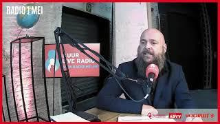 Radio 1 mei interview Marc Pottelancie - eerbetoon aan Frank dams