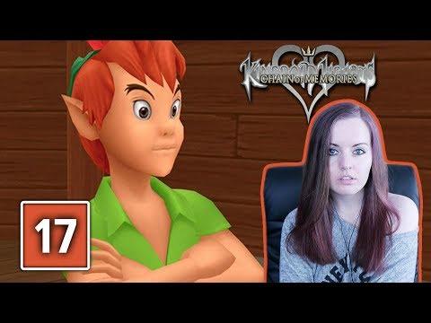 NEVERLAND   Kingdom Hearts Chain Of Memories Gameplay Walkthrough Part 17