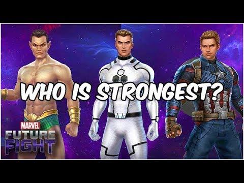 THREE HEAVYWEIGHTS! THE BEST COMBAT TIER 3 IS?!? - Marvel Future Fight