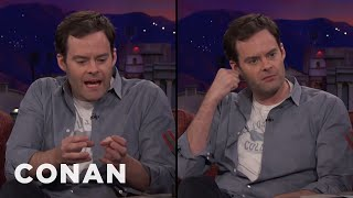 Bill Hader's Hand-Based Impressions Of Henry Winkler & Al Pacino  - CONAN on TBS