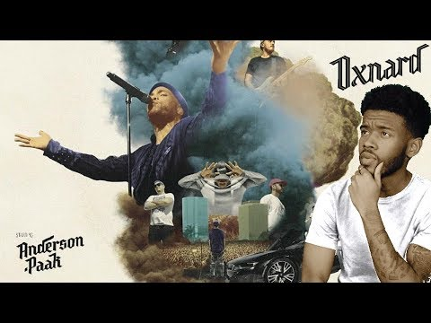 Anderson .Paak – OXNARD First REACTION/REVIEW