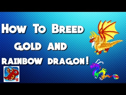 DragonVale: How To Breed Gold and Rainbow Dragon!