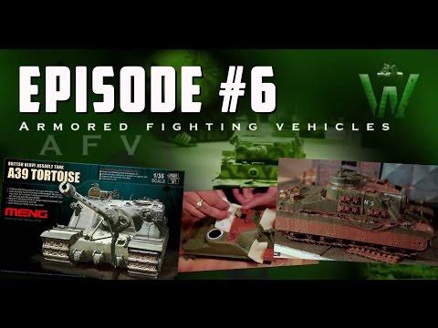 Tutorial: Meng Models A39 Tortoise Heavy Assault Tank by Juan Carlos Carmona | Warfare in Scale