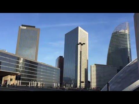 Paris La Defense, Grande Arche and Cnit