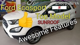 Ecosport Top Model Sunroof
