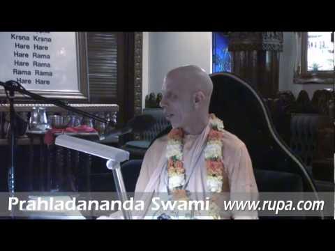 Lecture - Prahladananda Swami - CC Adi 1.1-4