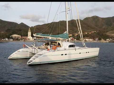 Charter catamaran Lagoon 570 in Greece.wmv