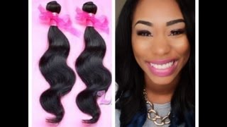 Aliexpress Hair Initial Review/ Unboxing Featuring:Rosa Hair - ChimereNicole