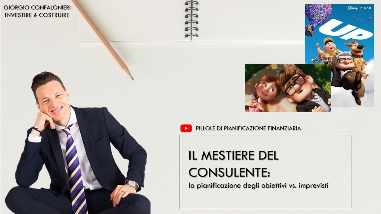 Il mestiere del consulente: la pianificazione degli obiettivi vs. imprevisti