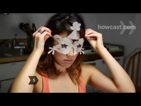 How to Make New Year's Party Glasses